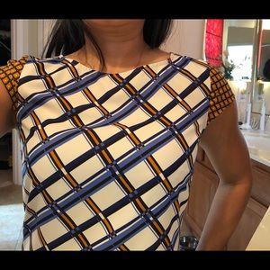 The Limited pattern sheath dress